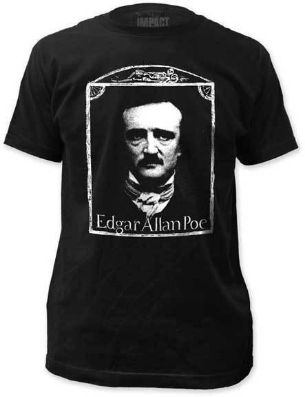 EDGAR ALLAN POE - Edgar Allan Poe - T SHIRT S-M-L-XL-2XL Brand New Official