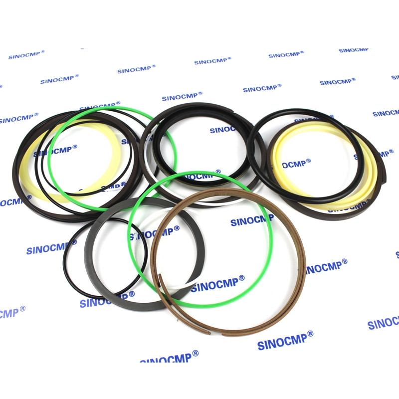 For Komatsu PC120-3 Arm Cylinder Repair Seal Kit Excavator Gasket, 3 months warranty for komatsu pc130 6k arm cylinder repair seal kit excavator gasket 3 months warranty