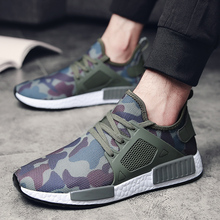 Outdoor Military Army Camouflage Men Sports Shoes 2018 Spring Light Trainers Boosts Speed Zapatillas Deportivas Hombre Running(China)