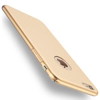 2 pcs/lot pour iphone 6s plus iphone 7 plus étui de luxe Ultra mince arrière couverture rigide accessoires étuis pour iphone 6 plus iphone 7