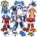 3 Unids/lote Hermanos Tobot Deformación Robot de Dibujos Animados figura de acción Del Anime Animación Tobot Coche Robot Carácter Vehículo 9 Estilos de la mezcla