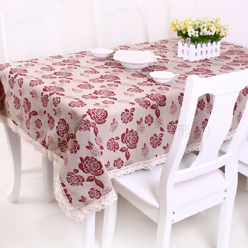 Table Linens For Weddings Manteles Redondos Lace Tablecloths Round