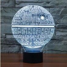 Stars Wars 3D Novelty LED Table Lamp