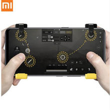 Asli Xiaomi Flydigi Game Controller Kiri Kanan Gamepad Trigger Shooter Joystick untuk Pubg Mobile Game untuk iPhone Android(China)