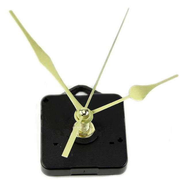 Mayitr Ponteiros Do Relógio Movimento do Relógio de Quartzo Mecanismo DIY Repair Kit Parte Longo Do Eixo Relógio Relógio Artesanato Reparação Ferramentas Manuais