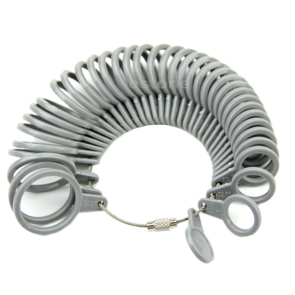 Aliexpress.com : Buy Free shipping Finger Ring Sizer Measure Gauge ...