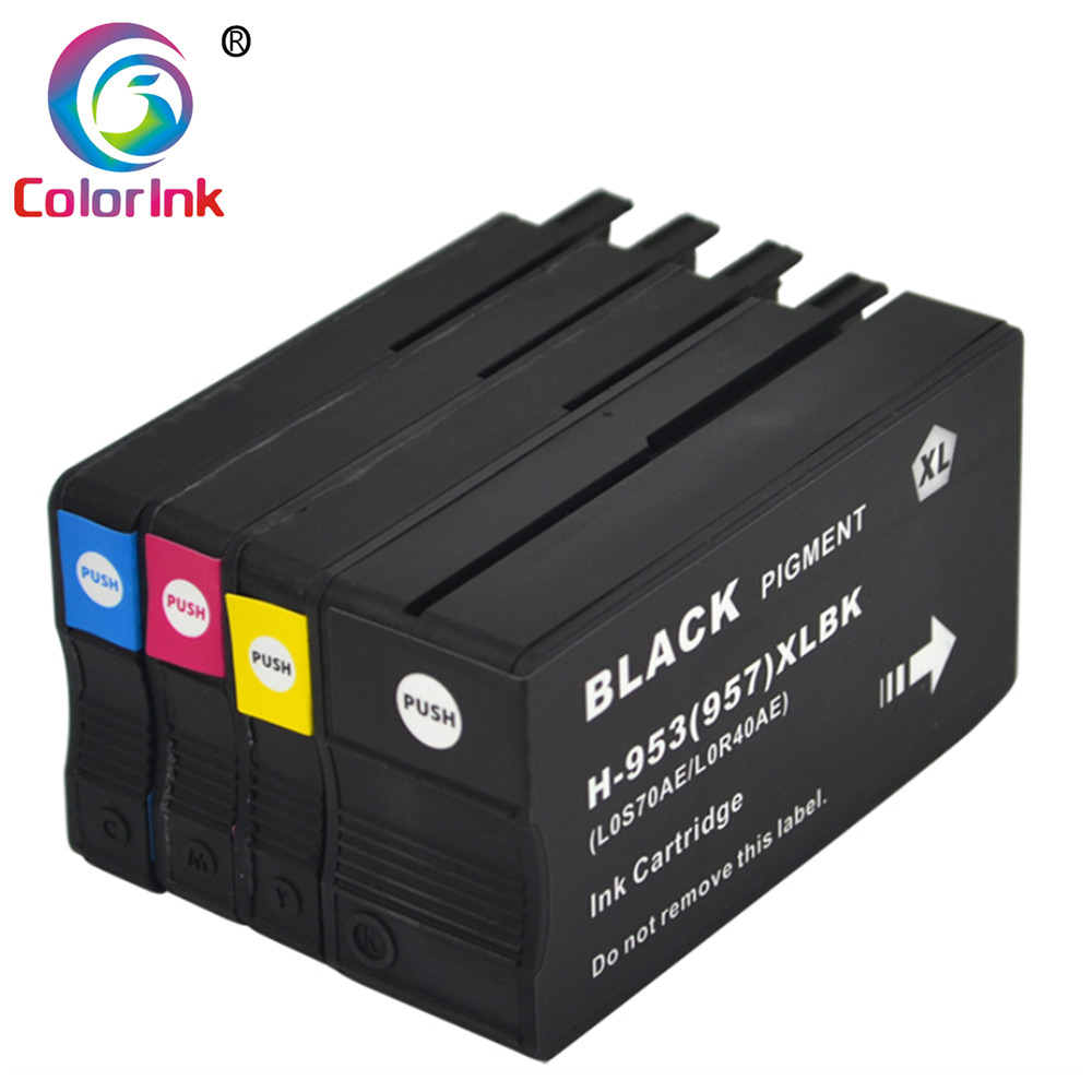 ColorInk Compatible Ink Cartridge <font><b>953</b></font> 953XL HP953 for <font><b>HP</b></font> pro 7740 8210 8218 8710 8715 8718 8719 8720 8725 8728 8730 8740 printer image