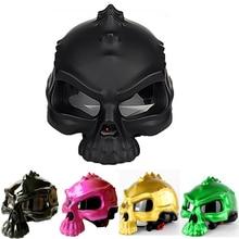Hsanzzeo Dual Use Skull Motorcycle Helmet Capacete Casco Novelty Retro Casque Motorbike Half Face Motocross Helmet недорого