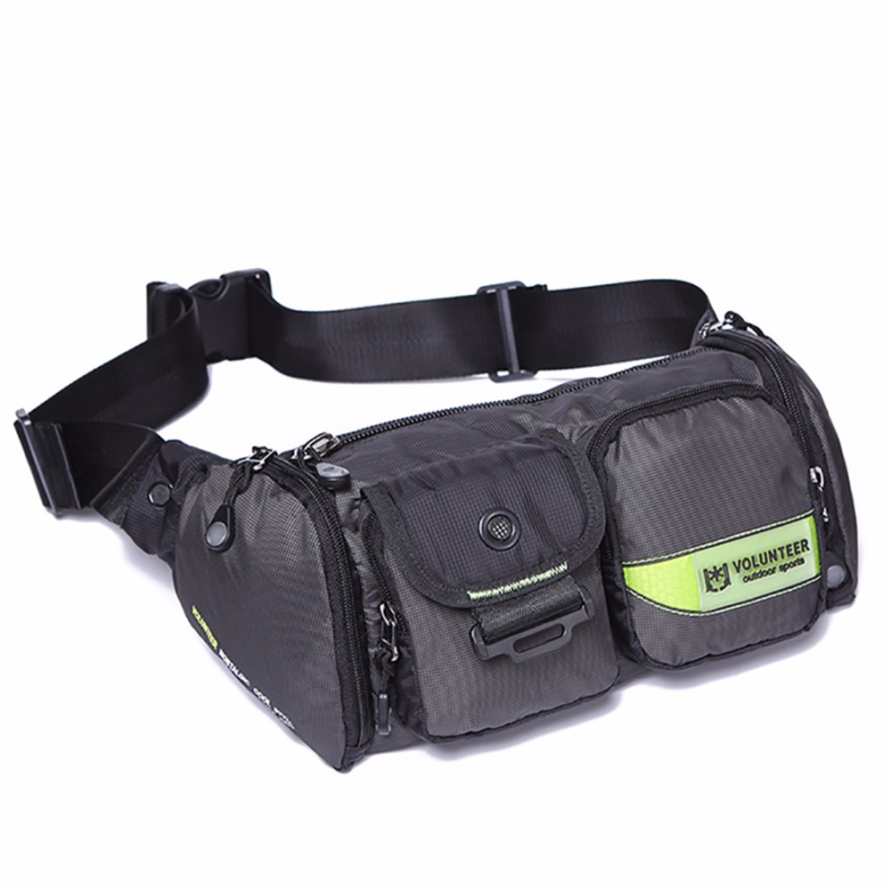 Top Quality Military Waterproof Oxford Waist Shoulder Crossbody Bag Fashion Men Bum Hip Belt Pouch Chest Fanny Pack