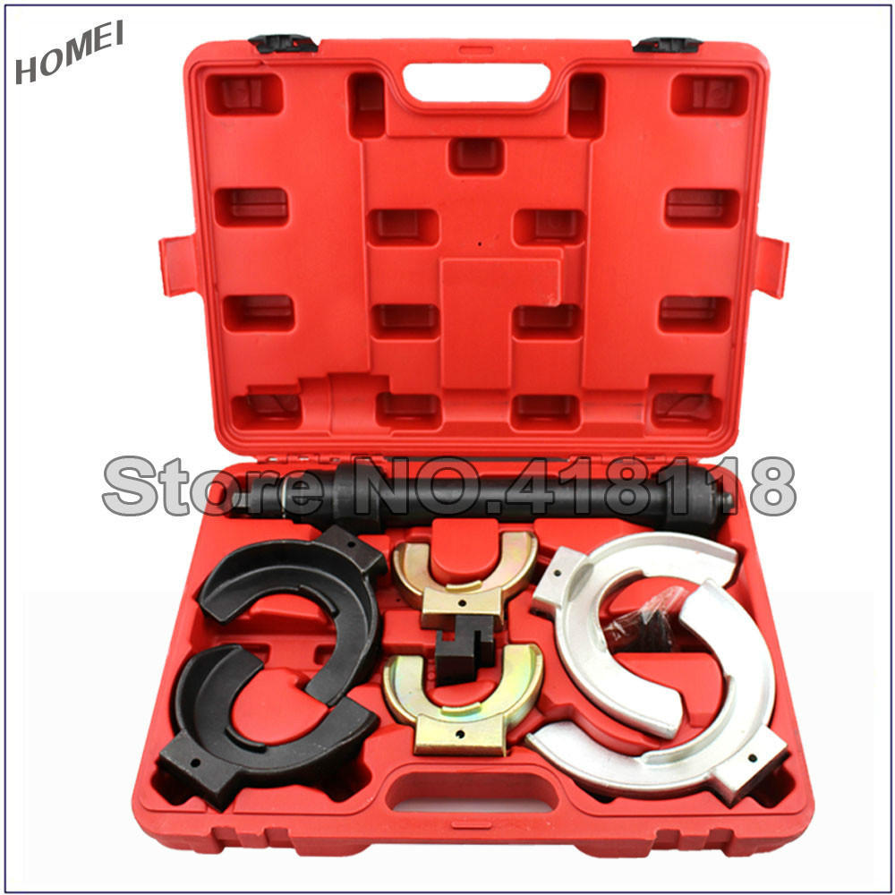 все цены на Professional Auto Tool Set Coil Strut Spring Compressor Installer/Remover Suspension Kit онлайн