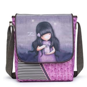 cartoon shoulder bag school bag