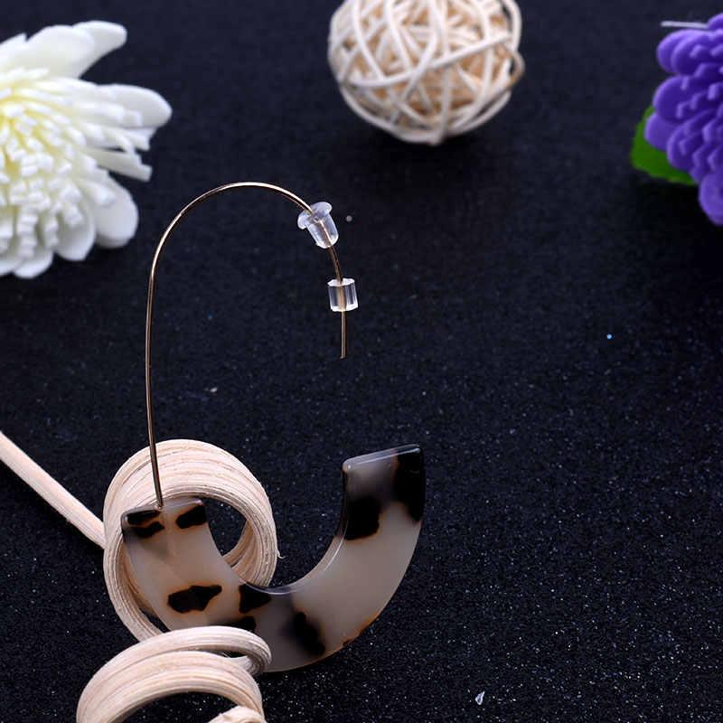 Kunststoff Ohrstöpsel 50 teile/los DIY Schmuck Kunststoff Ohrringe Zubehör Kunststoff Gummi Ohrring Zurück Großhandel Drop Verschiffen Freies