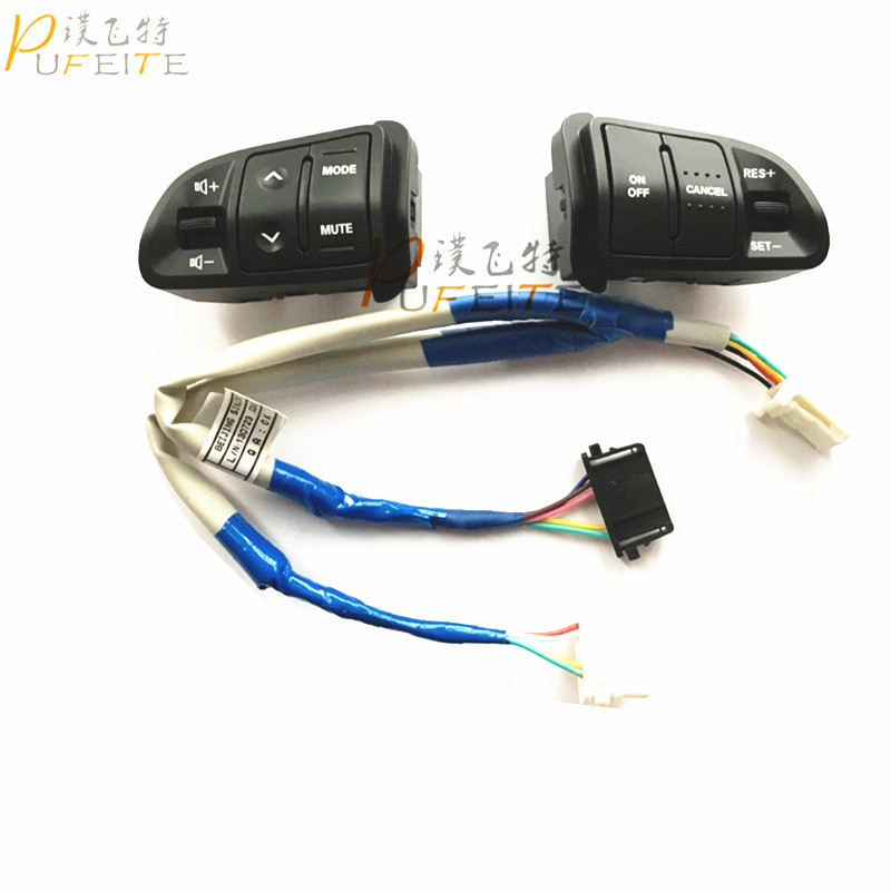 High Quality Multi function Steering Wheel font b Audio b font Cruise Control Buttons For Kia