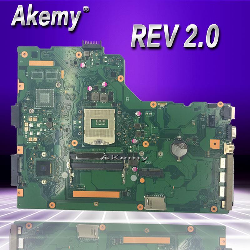 Akemy P751JA Laptop motherboard REV 2.0 for ASUS P751 P751J P751JA P751JF P751JD Test mainboard P751JA motherboard test 100% okAkemy P751JA Laptop motherboard REV 2.0 for ASUS P751 P751J P751JA P751JF P751JD Test mainboard P751JA motherboard test 100% ok