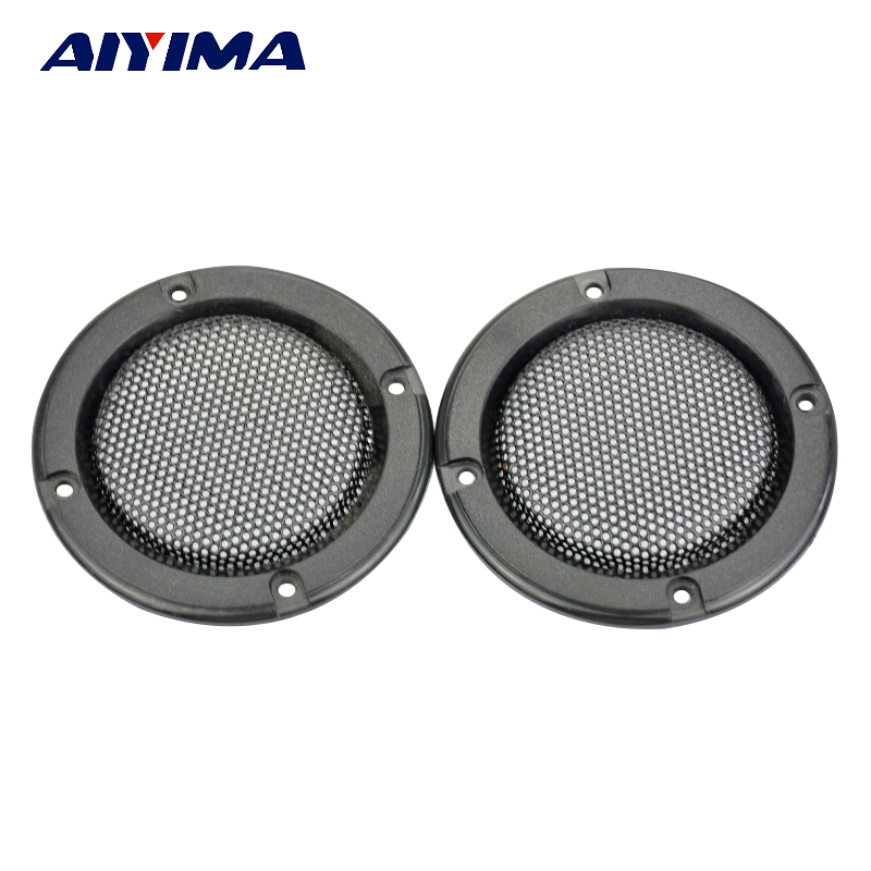 Aiyima 2Pcs 2Inch Speaker Protective Net Tweeter Grille Waffle Mesk Grills Special 3-inch Audio Accessories Speaker