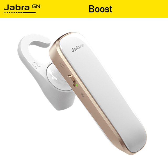 US $36 99 32% OFF|Jabra Boost Ear Hook Bluetooth Wireless Earphone Portable  Comfortable Headset With Mic For iPhone Smartphone Call Long standby-in