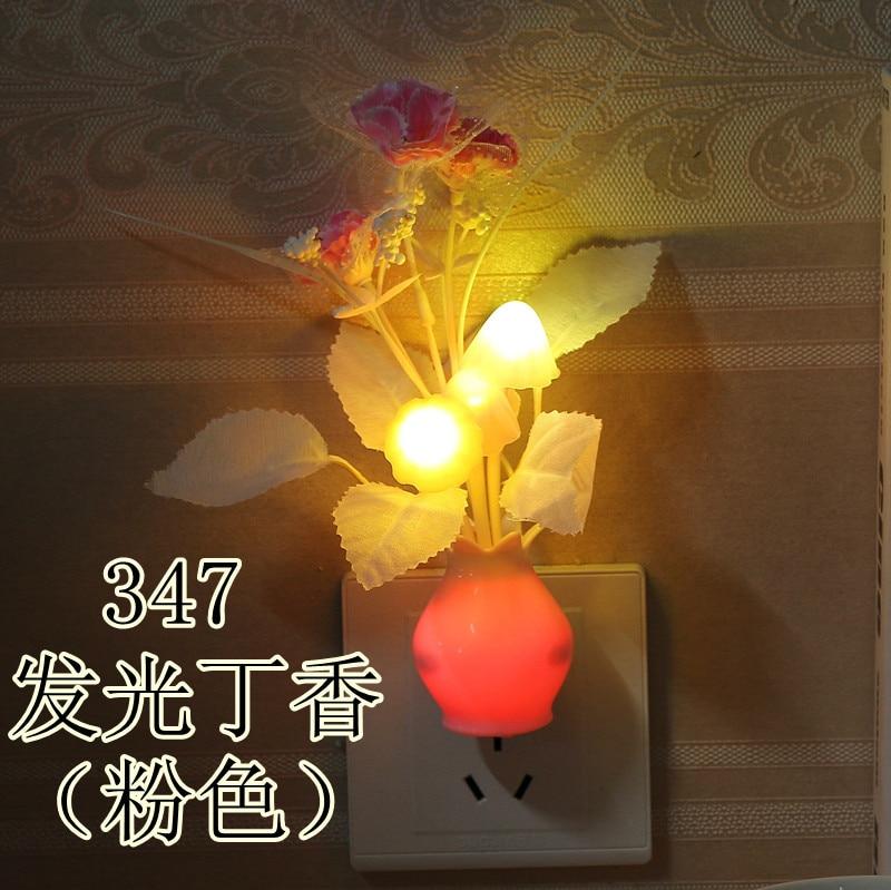 丁香花+瓶身发光