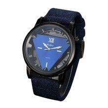 Hommes de montre McyKcy Hommes de Nylon Bande Armée Cadran Analogique Sport Reloj hombre Militaire Montre-Bracelet Relogio masculino Saat, XL30
