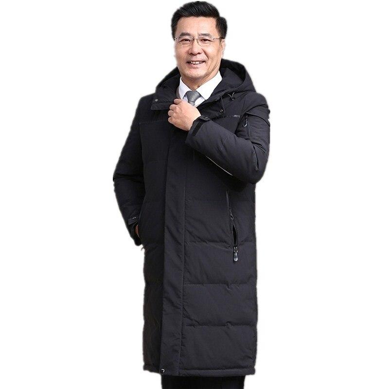 Épais color Canard 1 Veste Taille Manteaux Plus Bas Pour Le À La Capuchon Vers 3 Chaud color Hommes Vestes 2 Color D'hiver Nouveaux 2018 Parkas Mode De Duvet XFwzzqg