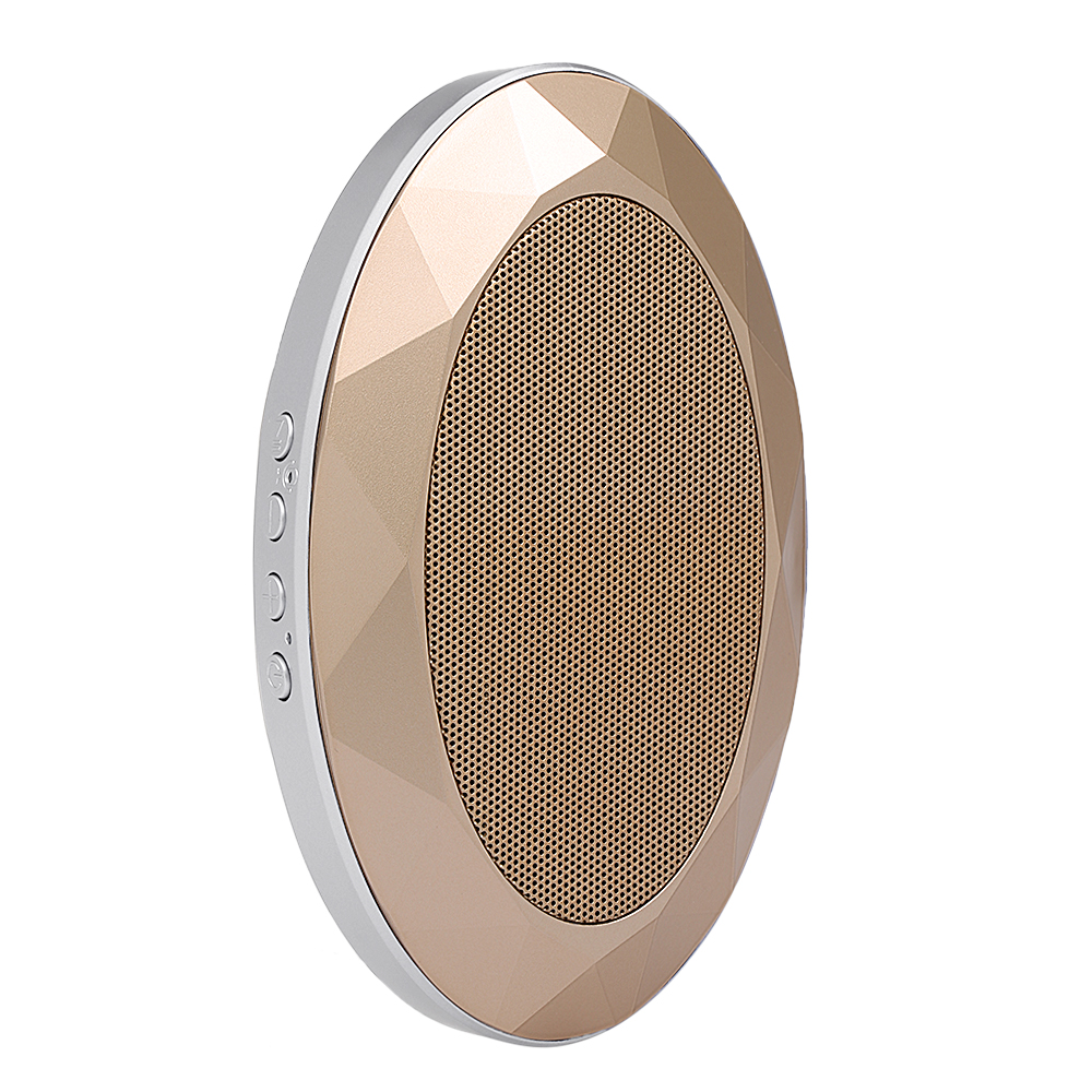 AJB-001 Portable Bluetooth Speaker Diamond-Style V4.2+EDR Subwoofer Stereo Soundbox Support TF Card AUX IN