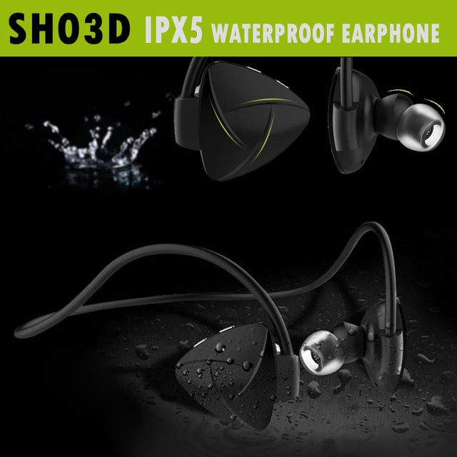 SH03D NFC Беспроводная Связь Bluetooth 4.0 Гарнитура Стерео Hearphone Спорт Наушники MP3 Media Player Voice Reminder Sweatproof Автоспуск