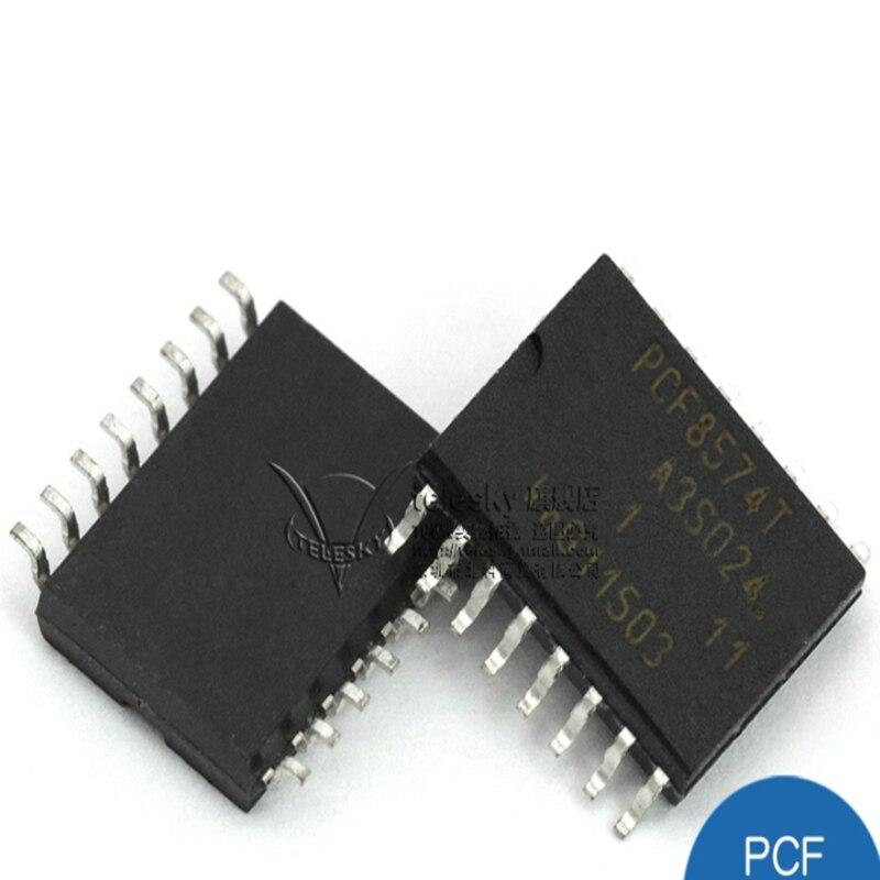 PCF8574T I/O Expander 8 IC 100kHz 20-SSOP