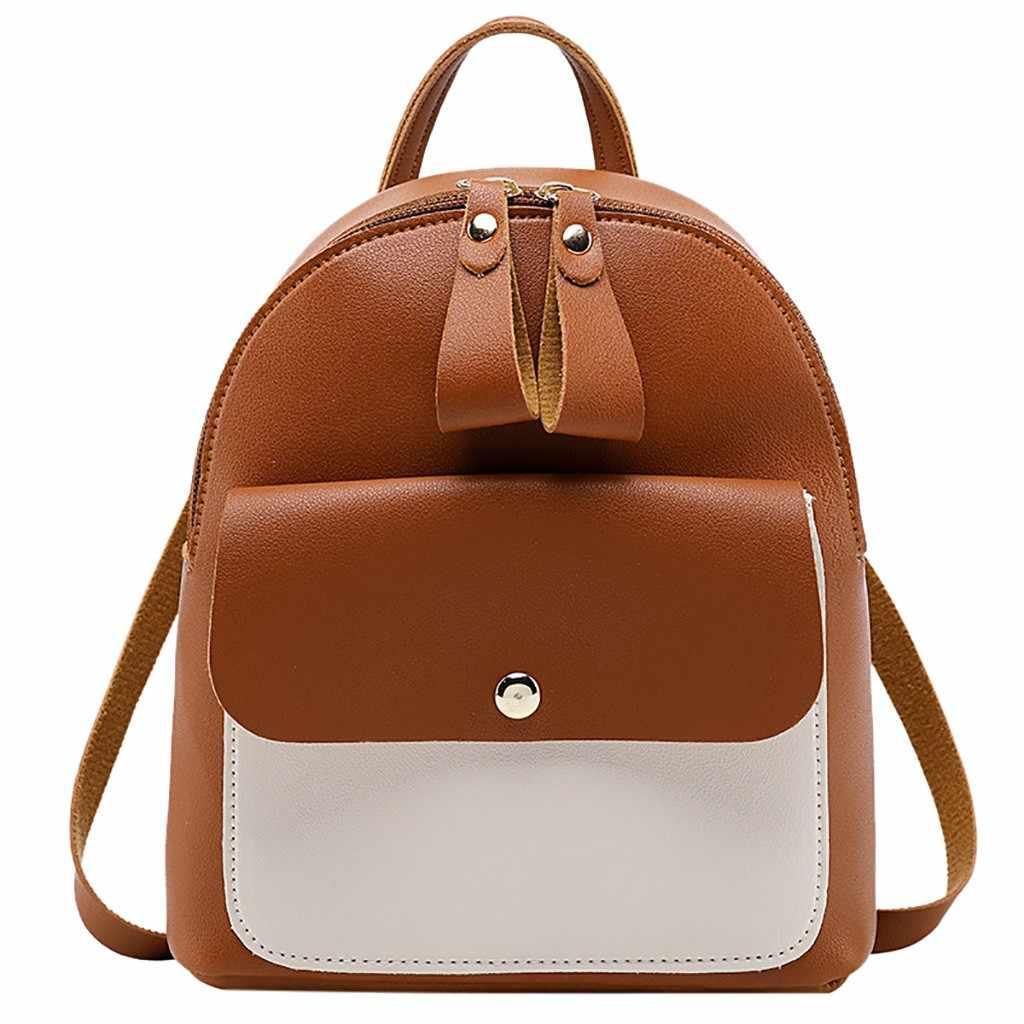 Mode zurück pack Dame Schultern Kleine Rucksack Brief Geldbörse Handy Tasche frauen schulter tasche mochila feminina # YL5
