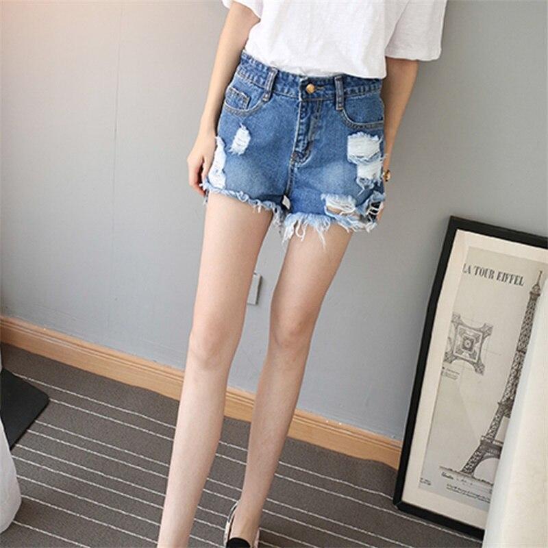 Pantalones cortos de cintura alta de verano Pantalones cortos de - Ropa de mujer - foto 3
