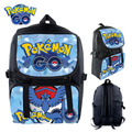 2016 Pokemon Backpack Anime Printing Waterproof Backpack Boys Girls Teenagers Large School Bag Travel Bag Mochila