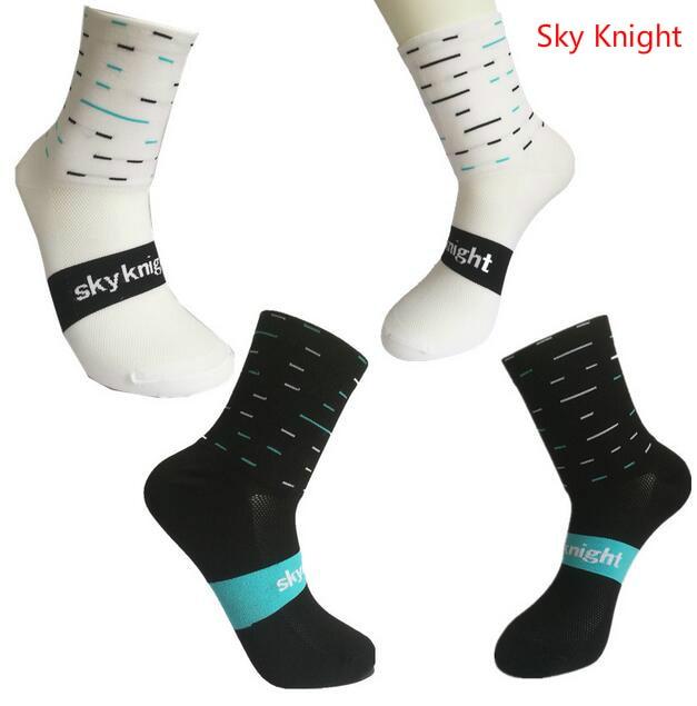 Sky Knight Unisex Professional Sport Socks Breathable Road Bicycle Socks Outdoor Racing Cycling Socks Bashetball Socks цена