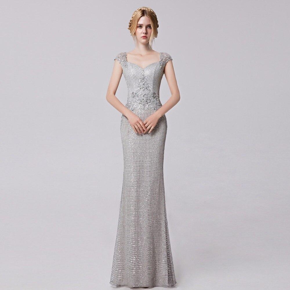 Silver Long Dresses Promotion-Shop for Promotional Silver Long ...