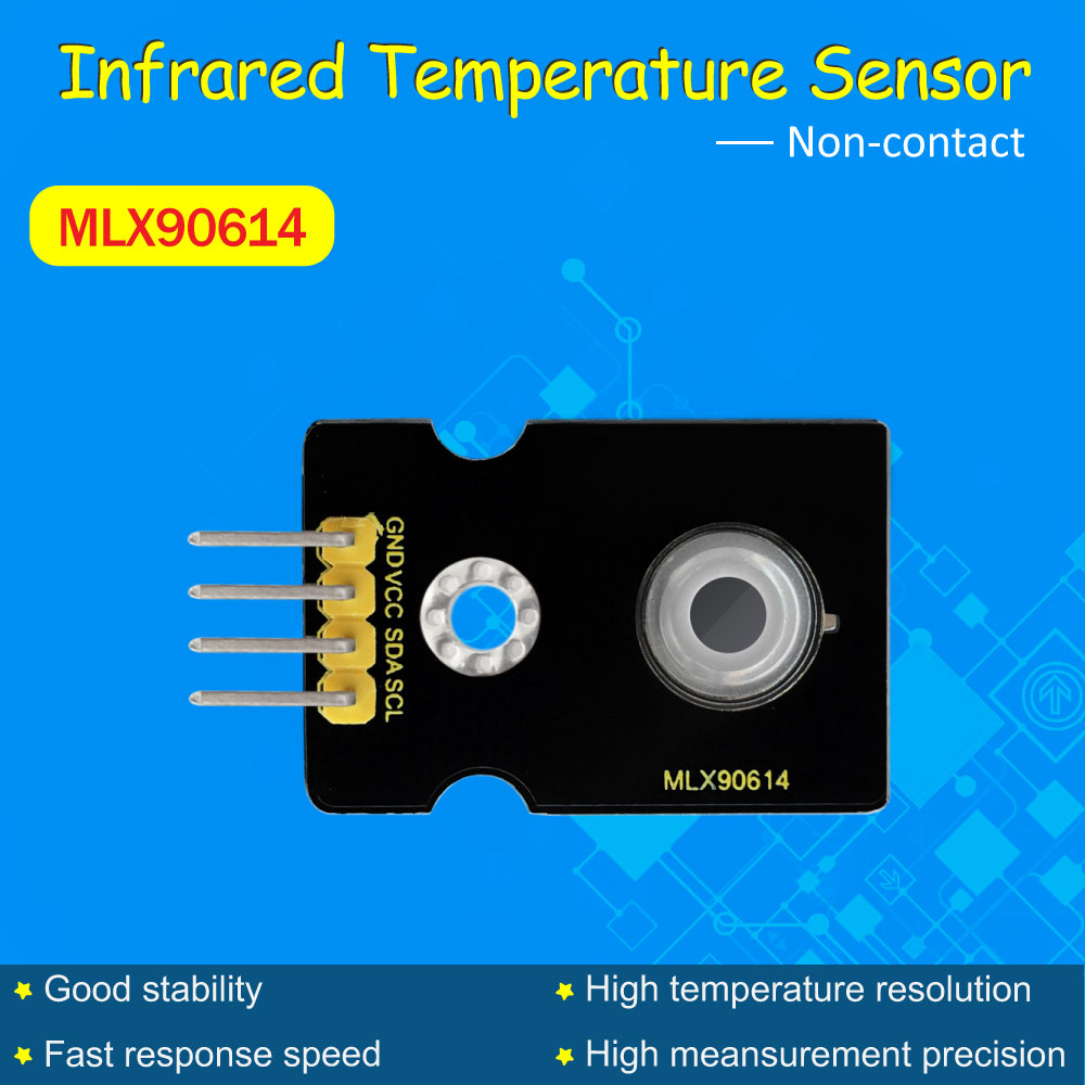 připojení arduino mlx90614 - Keyestudio MLX90614 Non-contact Infrared Temperature  Sensor GY-906 for Arduino/IIC port