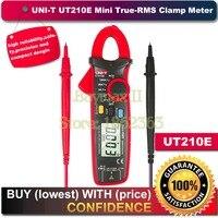 UNI-T UT210E 커패시턴스  저항 측정이있는 True RMS AC/DC 전류/전압 미니 클램프 미터