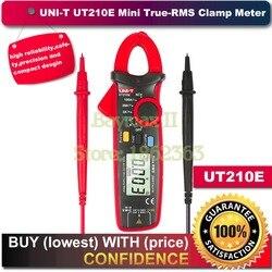 UNI T UT210E prawdziwej wartości skutecznej AC/DC prąd/napięcie Mini mierniki z pojemności  odporność na pomiar|Mierniki wielofunk.|Narzędzia -