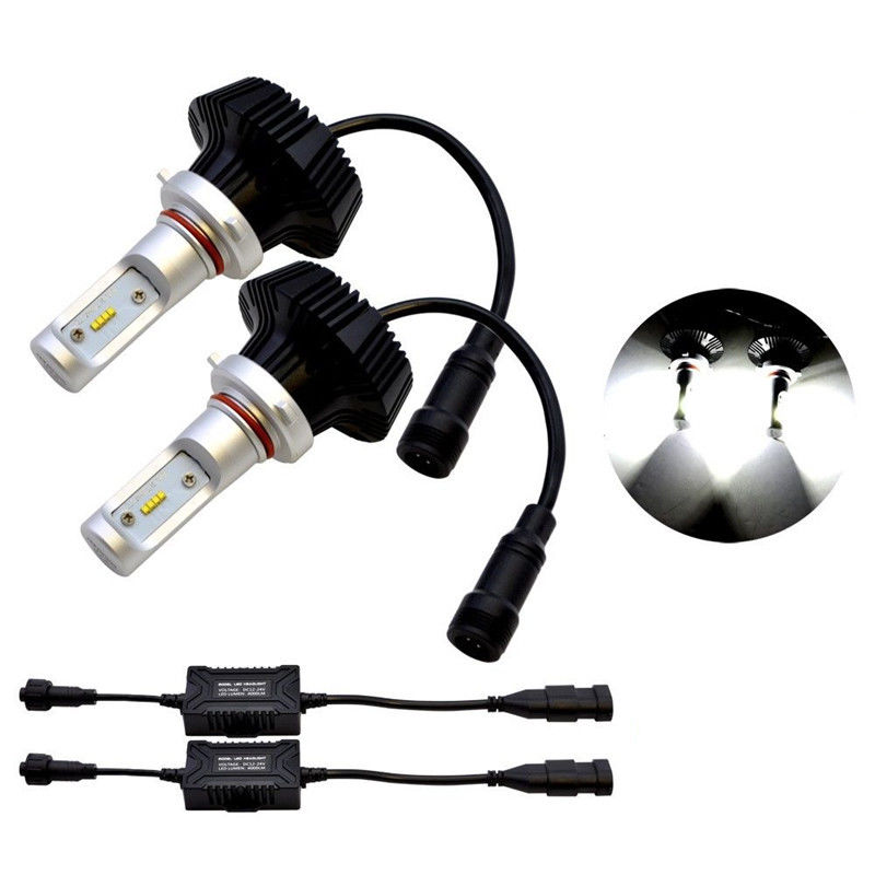 все цены на 1Pair 160W 8000LM LED Car Headlight Bulbs 9006 HB4 Plug Bulb LED Headlights Conversion Kit  White 6000K