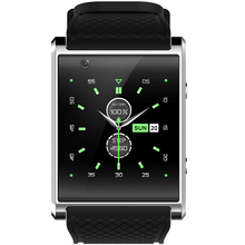 Android 5.1 Smartwatch X11 MTK6580 Con Podómetro Reloj Inteligente Cámara 5.0 M 3G WIFI GPS WIFI Tarjeta de Posicionamiento SOS movimiento Del Reloj