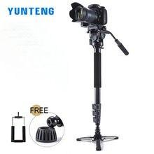 המקצועית YUNTENG 588 מצלמה Unipod חדרגל מצלמה DSLR SLR דיגיטלית מצלמה ניקון הקנון סוני Pentax פוג י 588
