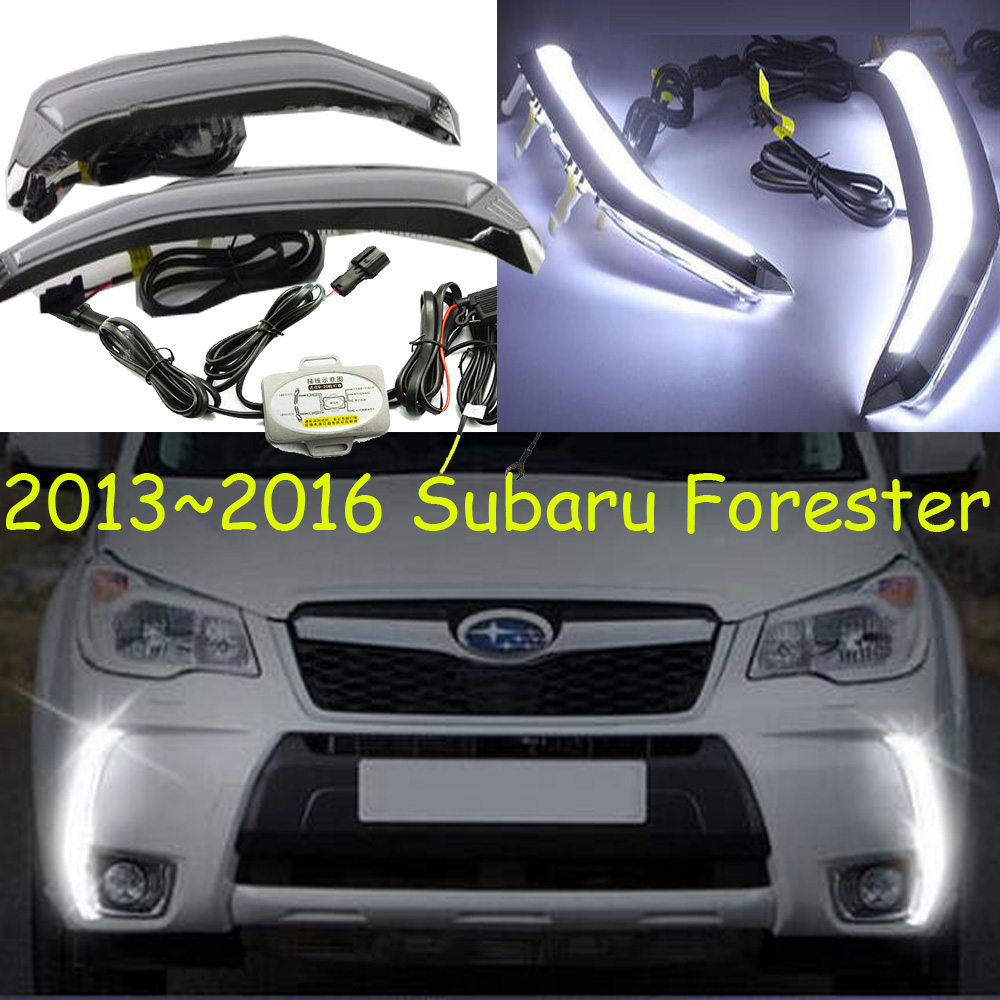 Forester daytime light;2013~2016,Free ship!LED,Forester fog light,2pcs/set;Forester forester daytime light 2013 2016 free