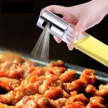 Anpro 1 шт. кухонная стеклянная бутылка для выпечки оливкового масла спрей масло с уксусом распылитель бутылка для приправ соевый соус пустая бутылка для барбекю салата