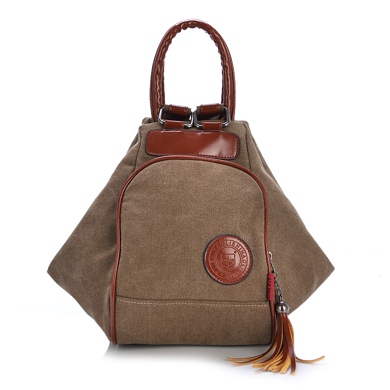 S Casual Preppy Style Canvas Hobos Handbags Rucksack For Age School Shoulder Bags Bag Daily Messenger In From