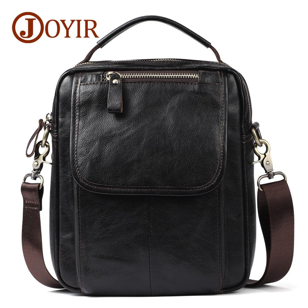 Joyir натуральная кожа мужчины сумка бренд дизайнер мужской плеча Crossbody сумки ноутбука Tote мужчины портфель небольшая кожаная сумка