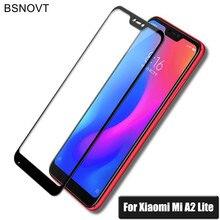 hot deal buy 2pcs screen protector for xiaomi redmi 6 pro glass tempered glass xiaomi mi a2 lite full coverage glass xiaomi redmi 6 pro film