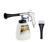 Hot New Portable Tornado Foams Gun Cleaning Gun Bottles Holder Paint Station Filter Portable Save Money