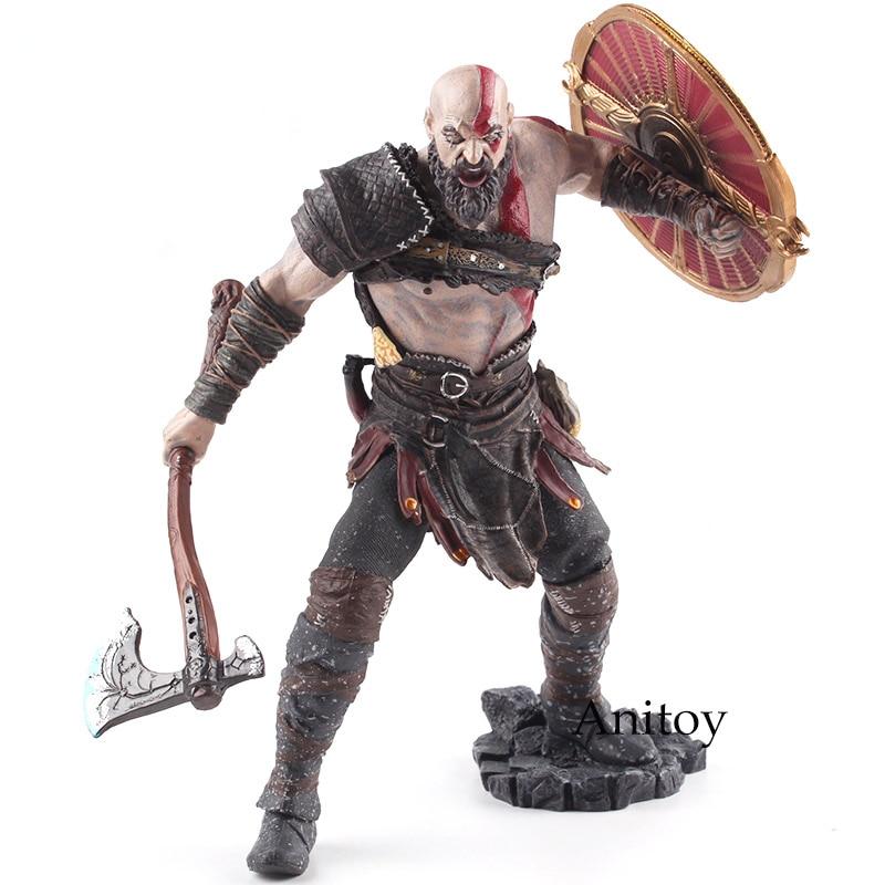 Original God of War 4 Kratos PVC Action Figure Collectible Model Toy Kratos God of War Game Action Figures Kratos Figure Statue