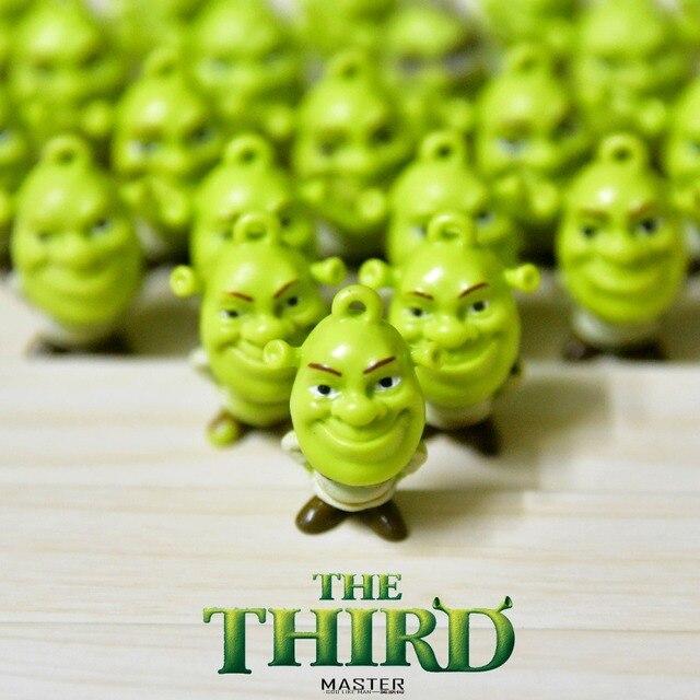 24 stuk Shrek PVC Action figure speelgoed collectie Schattige Collectible Model Voor Kinderen Gift