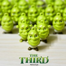 24piece Shrek PVC Action figure toys collection Adorable Collectible Model For Children Gift