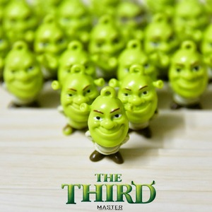 Image 1 - 24piece Shrek PVC Action figure toys collection Adorable Collectible Model For Children Gift