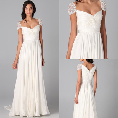 2017 New Arrival Women Sexy Long Dress White Plain Split Dramatic  Sweetheart Backless Party Dresses Vestido Costom Made edd0c045bd17