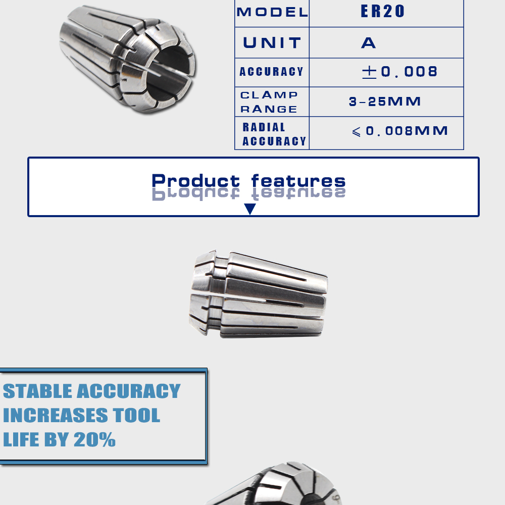 China er20 collet Suppliers