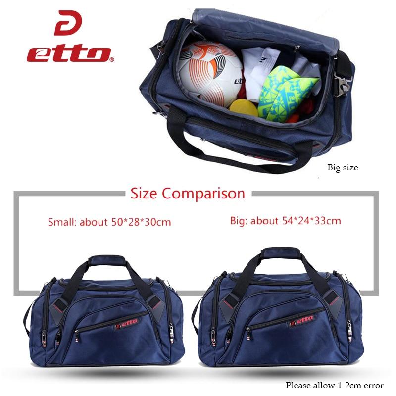 Etto Profesional Sukan Beg Besar Gym Beg Lelaki Wanita Kasut Bebas - Beg sukan - Foto 6